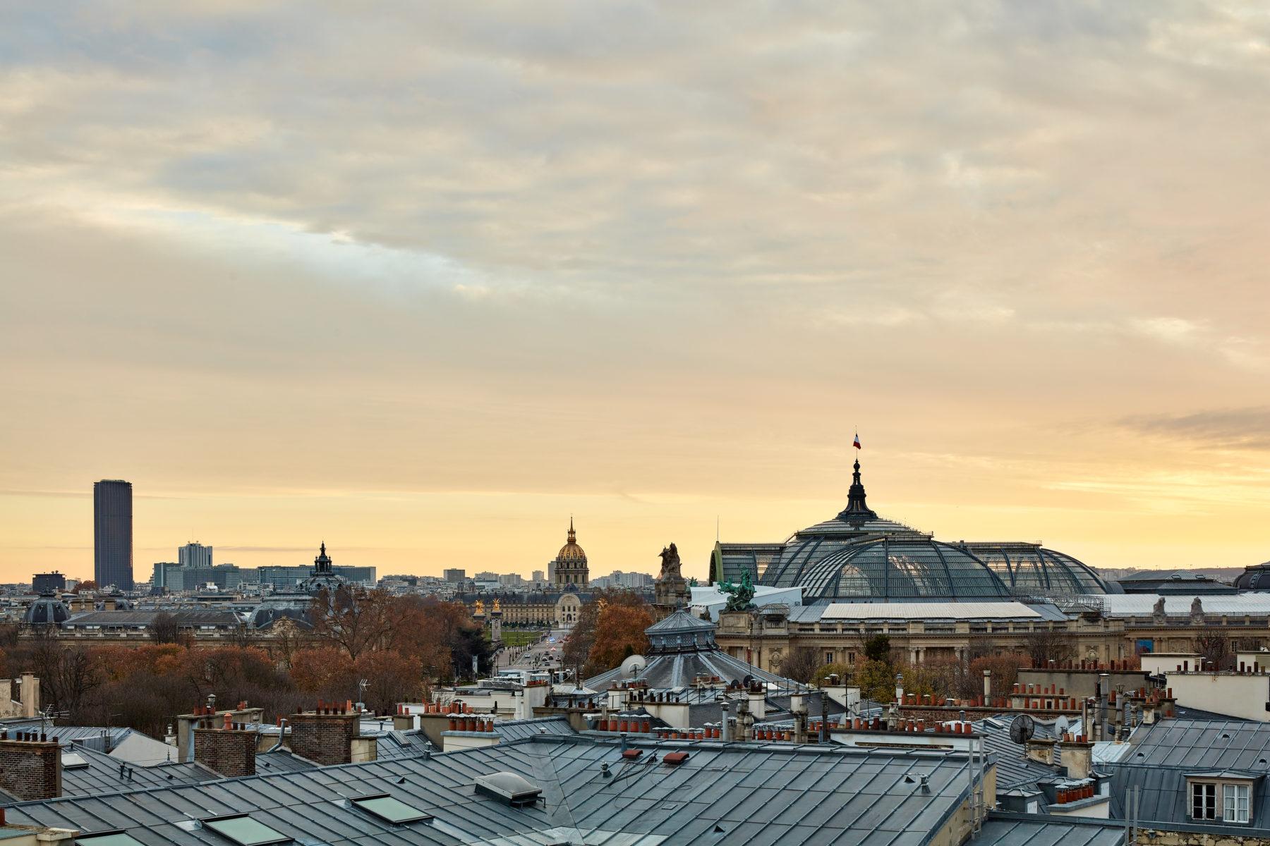 Panorama, toit de Paris, toiture en Zinc, Invalides, Grand palais, Montparnasse